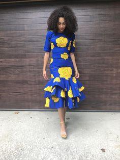 Trendy ideas on Africa fashion 694 Ankara Dress Styles, African Maxi Dresses, Latest African Fashion Dresses, African Dresses For Women, African Print Fashion, Africa Fashion, African Wear, African Attire, Ankara Fashion