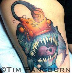 Angler fish!  Tim Pangburn, Art Machine Productions.Philadelphia, PA.