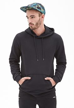 Classic Pullover Hoodie | 21 Men - 2000067102// In Grey or Red!