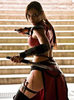 "cosplaysleepeatplay: "" Skarlet, Mortal Kombat. """