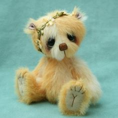 Artist bear , primrose