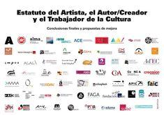 AlrOjO apoya el Estatuto del Artista, el Autor Creador y el Trabajador de la Cultura Working Man, Proposals, Author, Culture, Artists