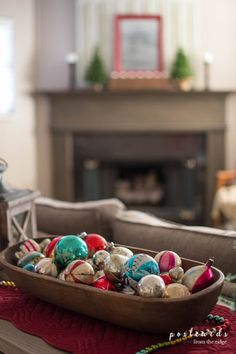 21 Ways to Use Vintage Items in Your Christmas Decor