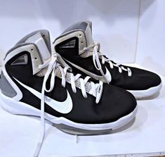 da9e083fdd5d8a Nike Hyperdunk 2010 Flywire Black White High tops Men s Basketball Shoes  Size 16  Nike