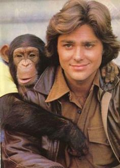 BJ and the Bear - oh my gosh I hadn't thought about this in ages! Another total crush....and I love chimps. ;-)
