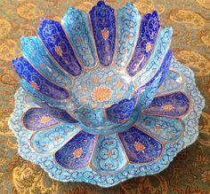 Mina kari Iranian art Esfahan