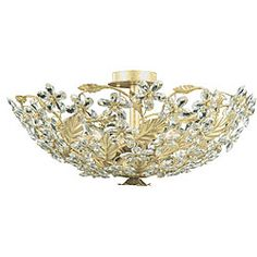 @Overstock - Update your interior decor with this Paris Flea flush mount light fixture. This six-light chandelier features hand-polished crystal and a champagne finish.http://www.overstock.com/Home-Garden/Paris-Flea-6-light-Flush-mount-Chandelier/5306497/product.html?CID=214117 $279.99