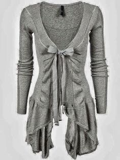 Ribbed asymmetric hem cotton cardigan | Follow the pic for cool summer deals