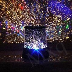 Amazing Laser Projector Lamp Sky Star Cosmos Night Light