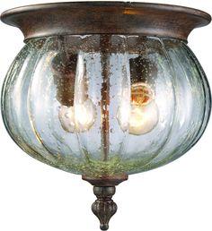 "0-007829>10""""w Belmont 2-Light Outdoor Weathered Bronze"