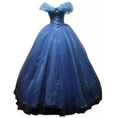 Lanrui 2015 Cinderella Blau Kleider Kleidung Grimm Fairy Tales Cosplay Kostüme Costume Nach Maß (XXS)