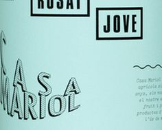 imagen corporativa muy curiosa de la bodega Casa Mariol #vino #wine #design