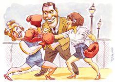 Lady Boxers by Geo Parkin