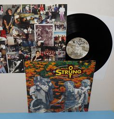 STRUNG OUT another day in paradise Lp Vinyl Record , fat wreck chords , #PUNK