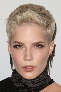Image result for halsey pixie cut