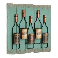 Wine Bottle Wall Plaque | Kirkland's