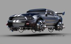 MY WORKS: HOVER MUSTANG     http://jomarmachado.blogspot.com.br/