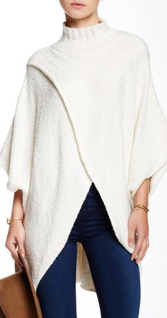Comfy wrap poncho // sponsored by Nordstrom Rack Sponsored by Nordstrom Rack.