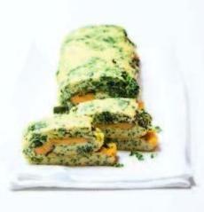 Recepty: Špenátová omeleta