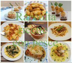 Raccolta ricette con pesce