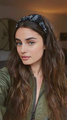 Hair Inspo, Hair Inspiration, Taylor Marie Hill, Taylor Hill Hair, Good Hair Day, Dream Hair, Mode Vintage, Aesthetic Girl, Scrunchies
