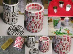 riciclo contenitori latta