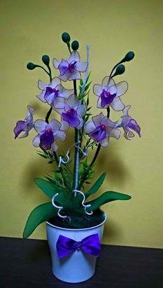 Tartós Virágok Harisnyából fényképe.