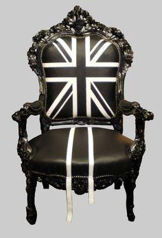 UNION JACK BLACK & WHITE - Jimmie Martin Design