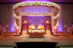 Planning An Indian Wedding A Plete- Wedding Hall Decoration Pictures In Indian Marathi Wedding, Desi Wedding, Mandap Design, Sweetheart Table Decor, Wedding Hall Decorations, Wedding Mandap, Wedding Backdrops, Wedding Receptions, Wedding Ceremony