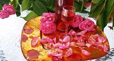 Λικέρ τριαντάφυλλο με κρασί