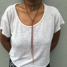 A personal favorite from my Etsy shop https://www.etsy.com/listing/398878653/june-wrap-necklace-vegan-faux-suede