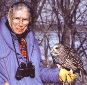 """""""Iowa's famous bird lady"""" - Gladys Black"""