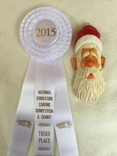 3rd Place...Santa ornament