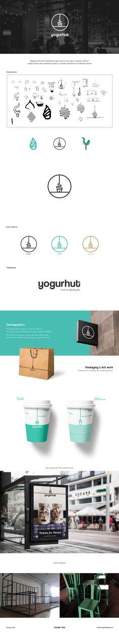 """Check out this @Behance project: """"Yogurhut"""" https://www.behance.net/gallery/45260635/Yogurhut"""
