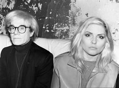 Debbie  Harry  with  Andy