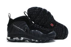 a4d998bdfaa Nike Air Max Foamposite Pro all black basketball shoes for sale