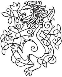 celtic majesty lion