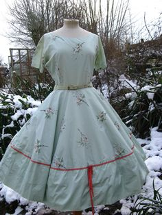 Another beautiful vintage 1950s horrockses dress - VintageHoards, Etsy,  £225.00