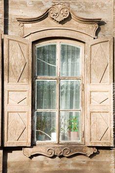 Деревянный наличник Иркутска №8