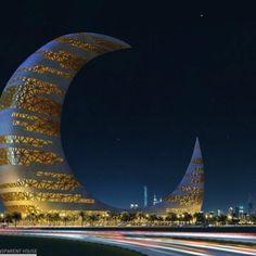 Skyscraper-Crescent Moon Tower (Dubai)