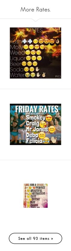 """More Rates."" by flawlessmajestydoe ❤ liked on Polyvore featuring text, emoji, fillers, random, pictures, quotes, rates, fillers // backgrounds, backgrounds and other"