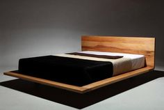 Risultati immagini per schwebendes bett Bedroom Bed Design, Dream Bedroom, Bedroom Furniture, Furniture Design, Bedroom Decor, Platform Bed Designs, Luxury Furniture Stores, Floating Bed, Diy Bed