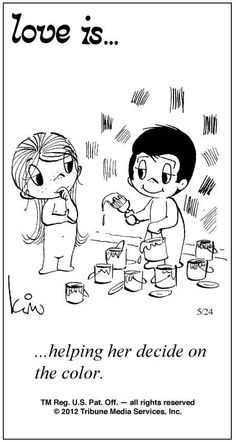 Love Is Cartoons by Kim | Love Is ... Comic Strip by Kim Casali (May 24, 2012)