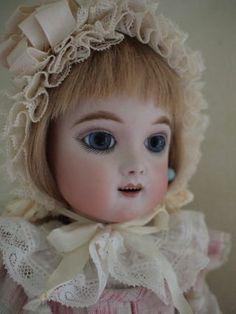 Eden bebe  Antique doll reproduction by Hiroko Saito.