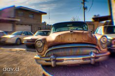 Classic Buick in HDR photographed with a Lensbaby  David Daniels Photography  @Lensbaby