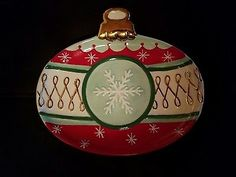 Department 56 Snowflake Christmas Ornament Serving Tray/Plate