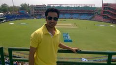 firoz shah kotla at new delhi