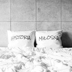 poszewki na poduszki HISTORIA / MIŁOSNA