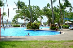 Hotel grounds, pool and beach