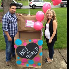 Gender reveal party idea's... It's a  GIRL!!! ;)